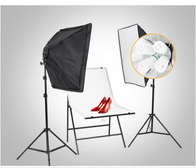 2x Photography Softbox Lighting Stand Photo Equipment Soft B