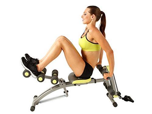 Wonder Core 2 up in Ultimate Fitness Equipment, Ergonomic Design, 180° Stretching,