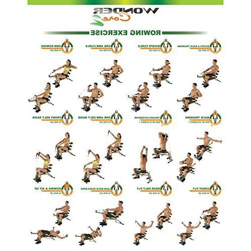 Wonder up 12 in Equipment, Ergonomic 180° Stretching, 360° Twisting