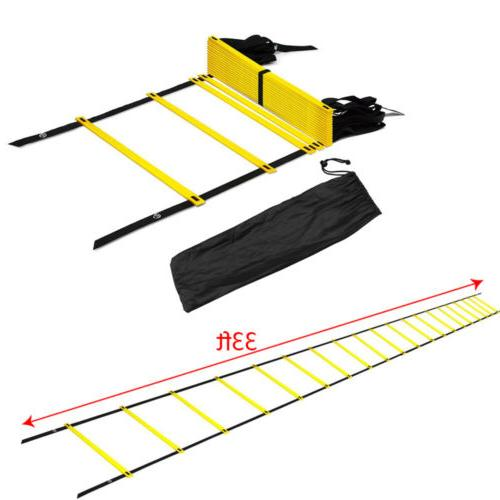 20 rung agility ladder for soccer speed