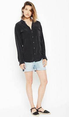 $208 Signature Silk Shirt