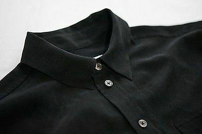 $208 Slim Signature Silk Black