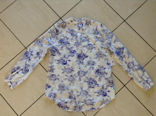 $219 NWT Equipment Silk Blue ~ So Classic!