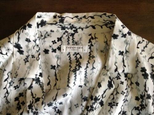$230 Equipment Silk w/ Black Gray