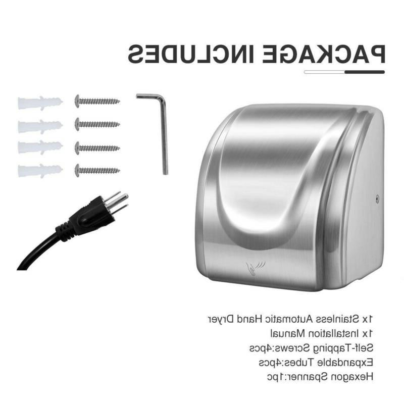 2Pcs 1800W Electric Stainless Steel Commercial Auto
