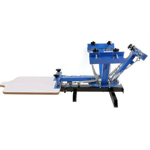 4 1 Silk Printing T-Shirt Press Equipment