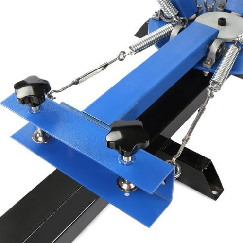 4 Color Station Silk Screen Press Equipment