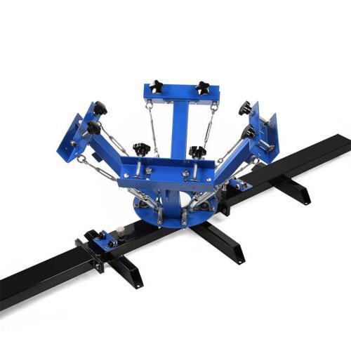 4 Color Silk Press Equipment