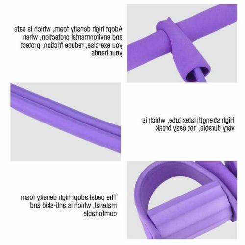4-Tube Equipment Fitness Rope Exercise US
