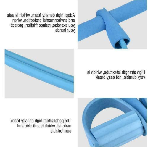 4-Tube Equipment Fitness Pedal Pull