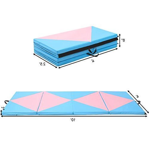 Giantex Gymnastics Thick Folding Panel for Gym Fitness