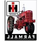 Farmall 400 IH Tractor Farm Equipment Logo Retro Vintage Met