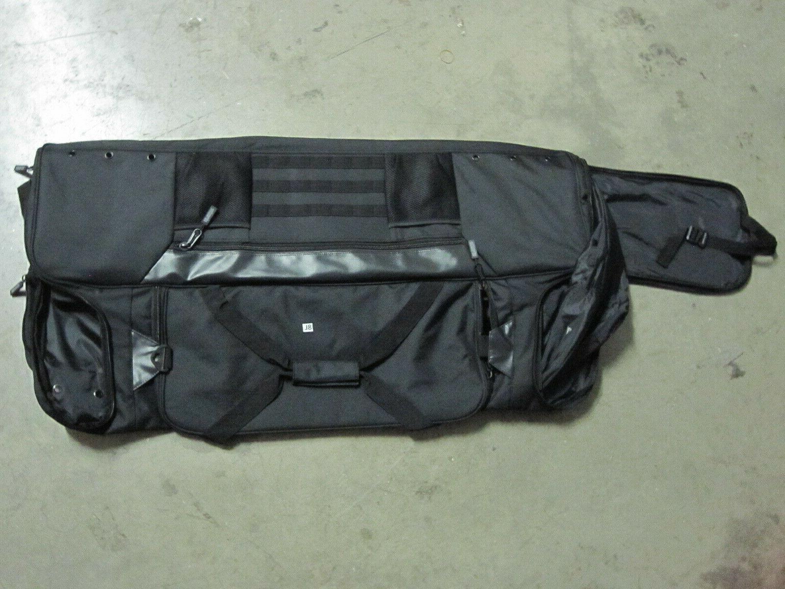 42 lacrosse equipment bag black