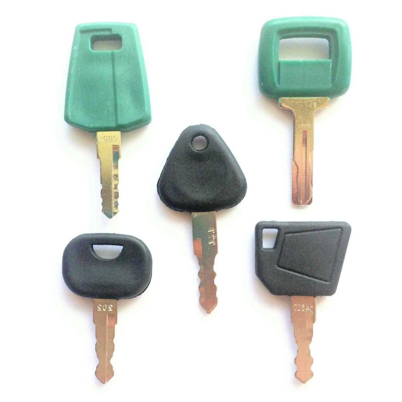 Volvo Equipment Ignition Keys - Heavy Equipment Key Set wit