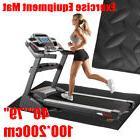 79x40'' EVA Exercise Equipment Treadmill Fitness Mat Gym Bik