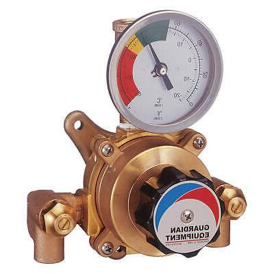 GUARDIAN EQUIPMENT Mixing Valve,Brass,0.5-6gpm,FNPT,125 psi,
