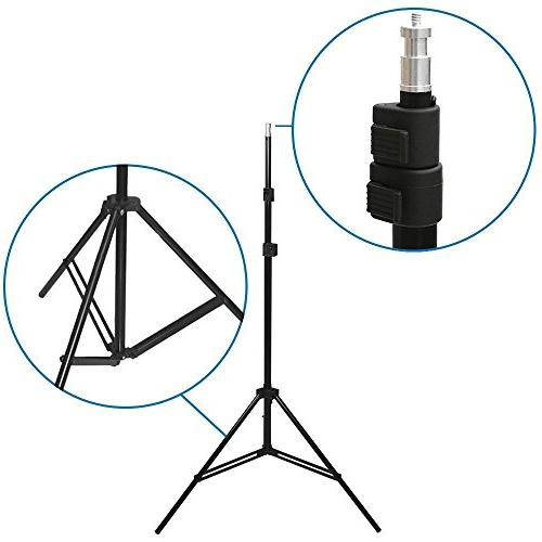 LimoStudio Photo Studio Soft Box Lighting Kit, x Inch Dimension Softbox Reflector with Photo Photography Studio, AGG814