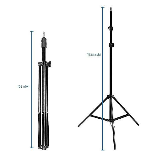 LimoStudio Kit, 24 Reflector with Bulb,