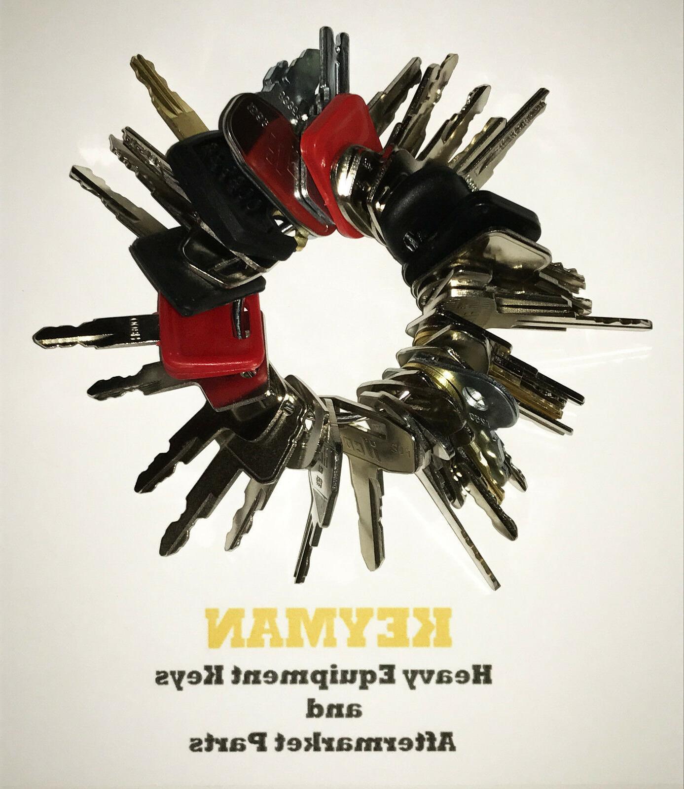 Operator Equipment Key Set / 35 Construction Ignition Keys C
