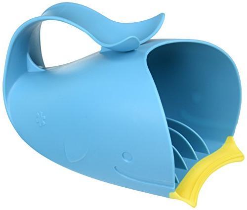 Skip Hop Moby Bath Tear-Free Waterfall Rinser, Blue