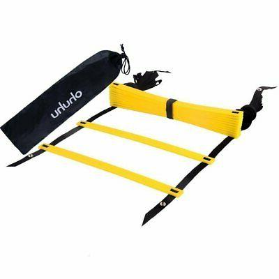 Speed Agility Ladder Soccer Football Rung Training Equipment