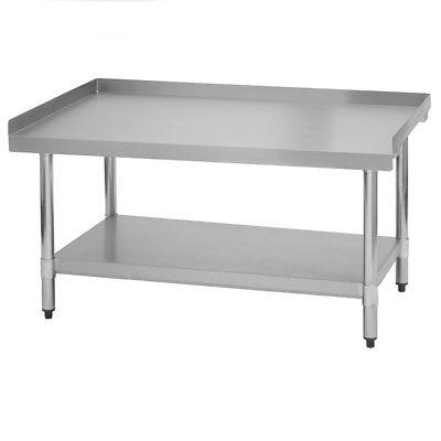 Commercial Stainless Steel Rolling Work Equipment Grill Stand 30x48 with Wheels