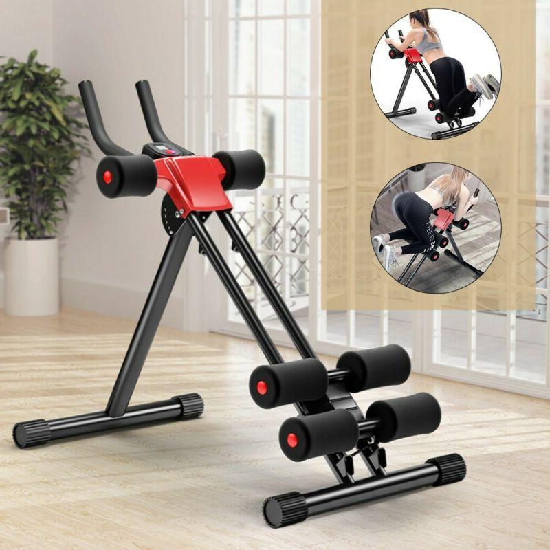 ab cruncher abdominal trainer fitness machine body