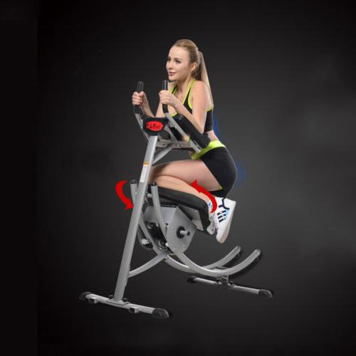 Ab Cruncher Fitness Machine Body Gym Exercise