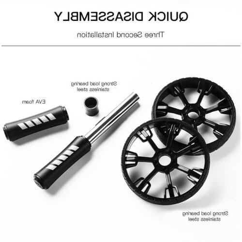 Ab Roller Exercise Dual Wheel Equipment Abdominal Core