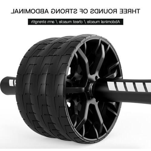 Ab Roller Exercise Dual Wheel Gym Equipment