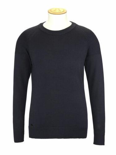 aem149 7 gauge merino crew sweater