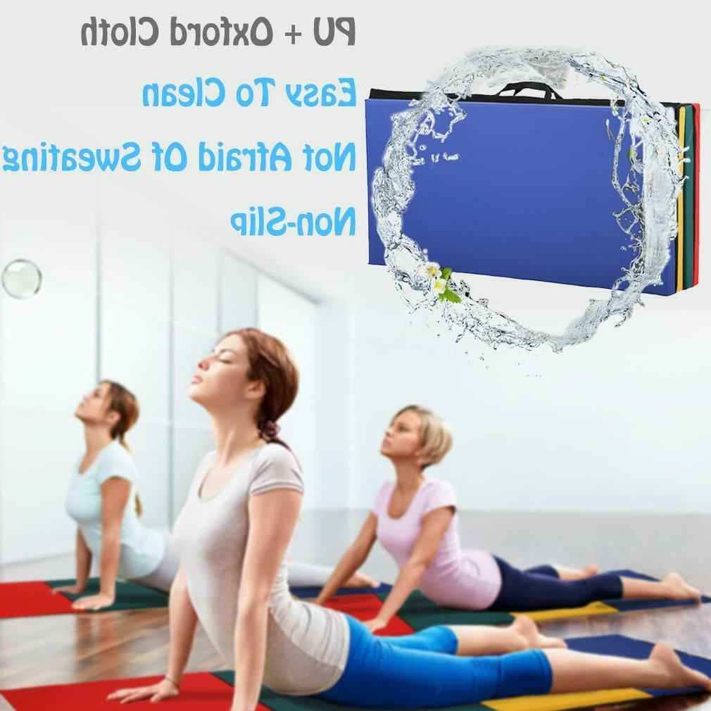 All color Panel Gymnastics Fitness Exercise Mat