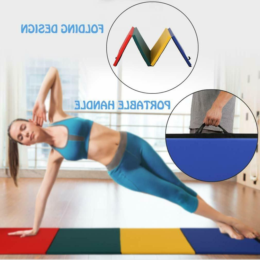 All color Panel Gymnastics Mat Fitness Exercise Mat R4