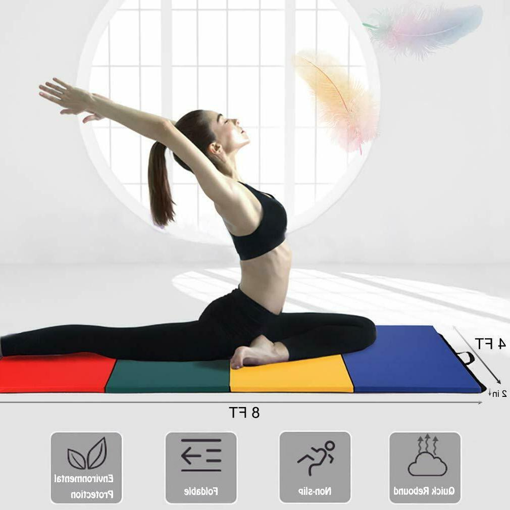 All color Panel Gymnastics Mat Gym Fitness Exercise
