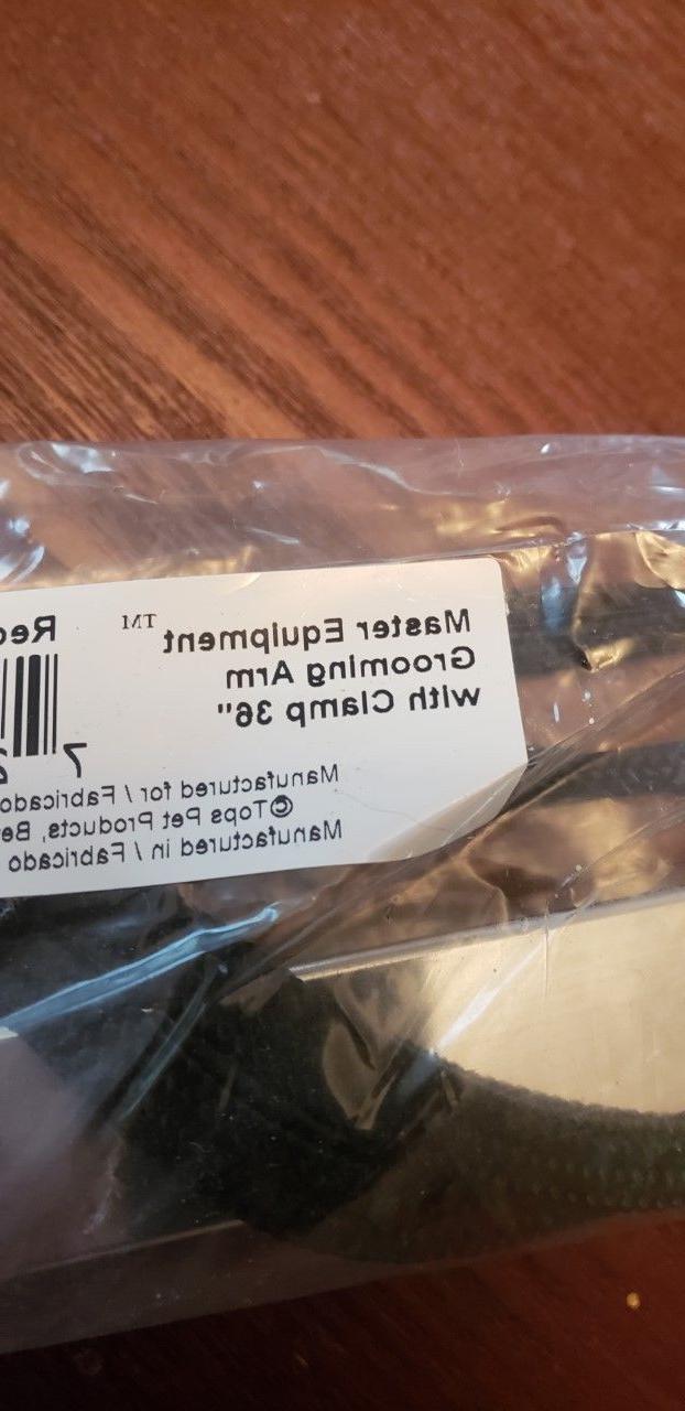 "Master Equipment Aluminum Grooming Arm Clamp Silver 36"""
