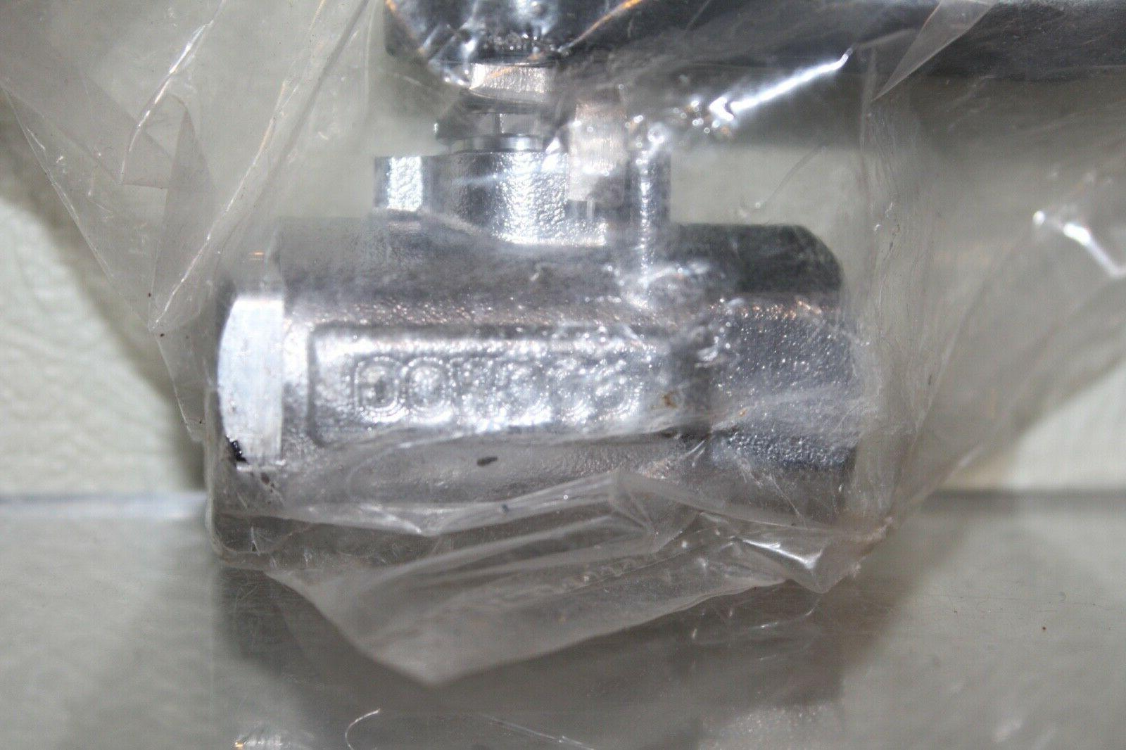 """with Flag Handle GUARDIAN EQUIPMENT AP600-101H 1//2/"""" IPS Ball Valve"""