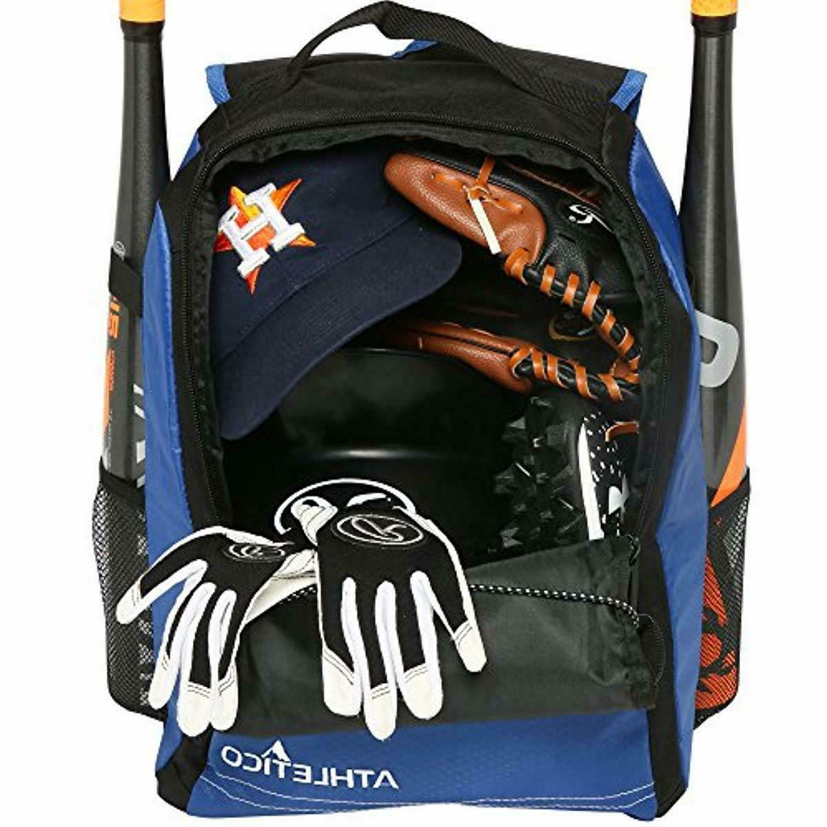 Athletico Youth Baseball - Backpack Baseball, & Equi