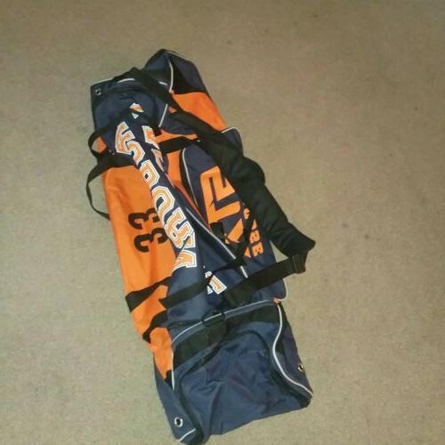 auburn university lacrosse bag 42 nos