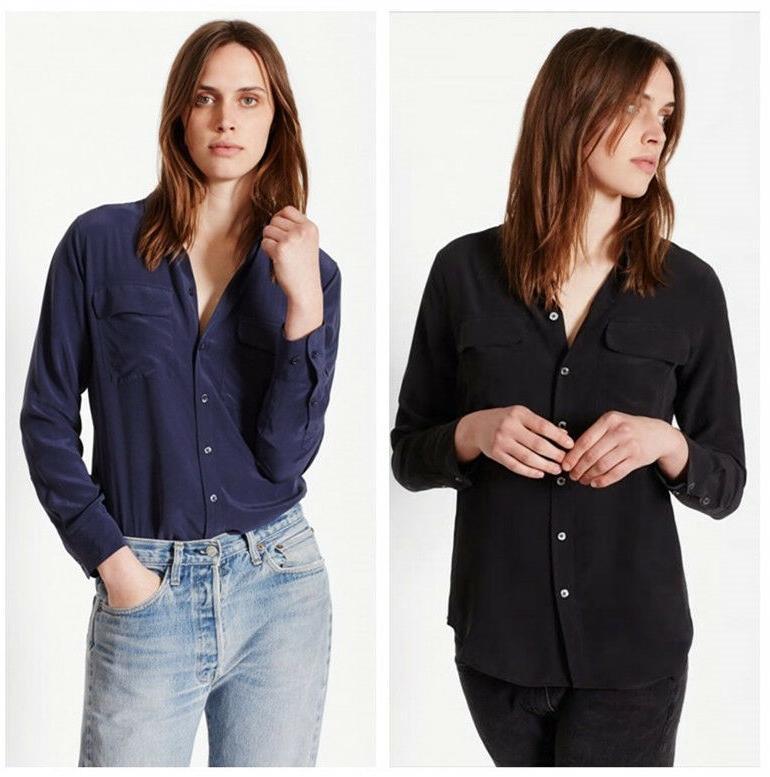 authentic new slim signature silk shirt 214