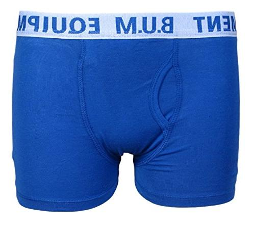 B.U.M. Boys 5 Pack Underwear, Brights,