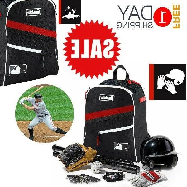 Baseball Bag Backpack Youth Boys Girls Adult Equipment Tote