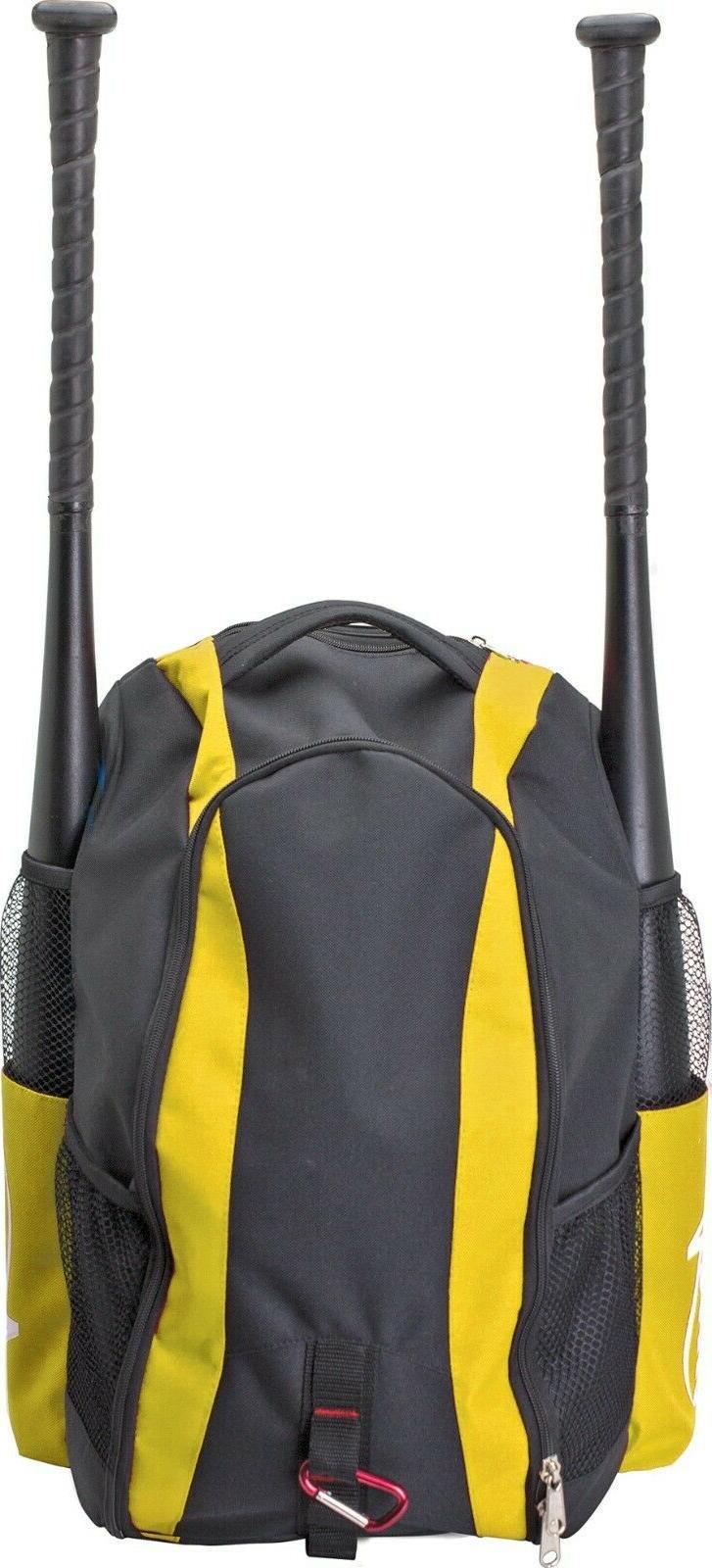 baseball dark green bat bag backpack sports