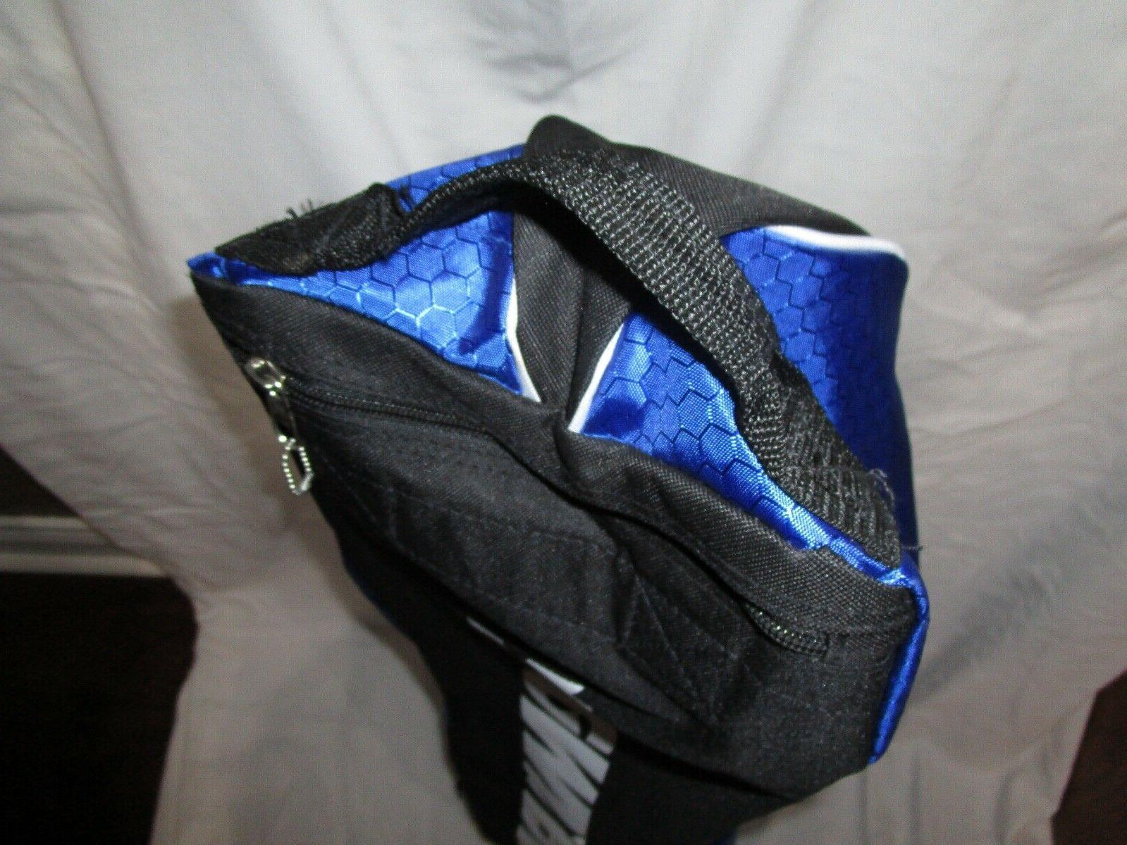 BASEBALL ROYAL BLUE & BLACK, ON WHEELS, TAGS