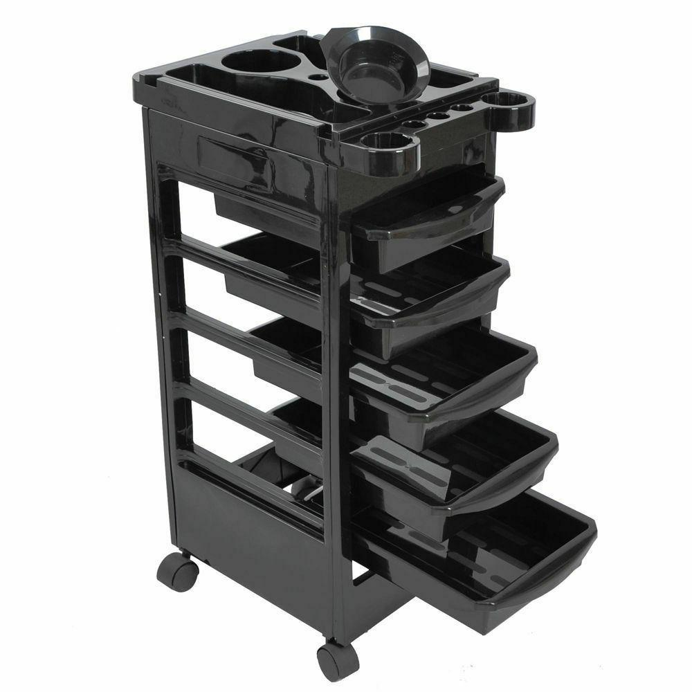 """32"""" Beauty Salon Trolley Mobile Equipment Cart w/Drawers Too"""
