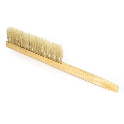 Fdit Pig Bristle Hair Brush Beekeeper Tool Wooden Beekeeping