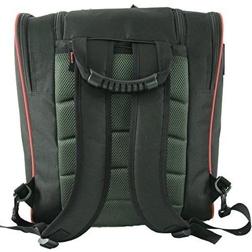 Element Equipment Deluxe Backpack Red