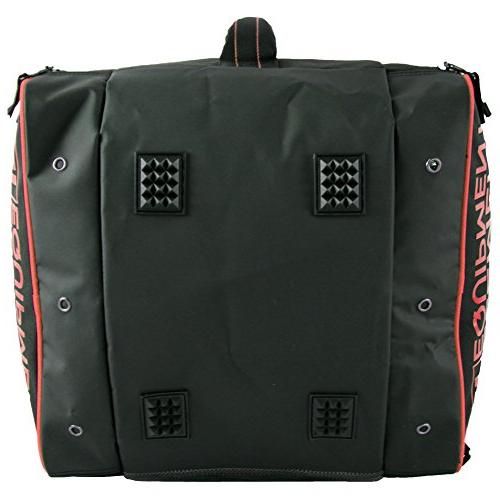 Element Deluxe Ski Backpack Red