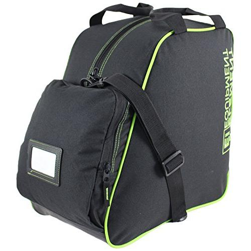 Element Equipment Boot Bag Snowboard Pack Black Lime