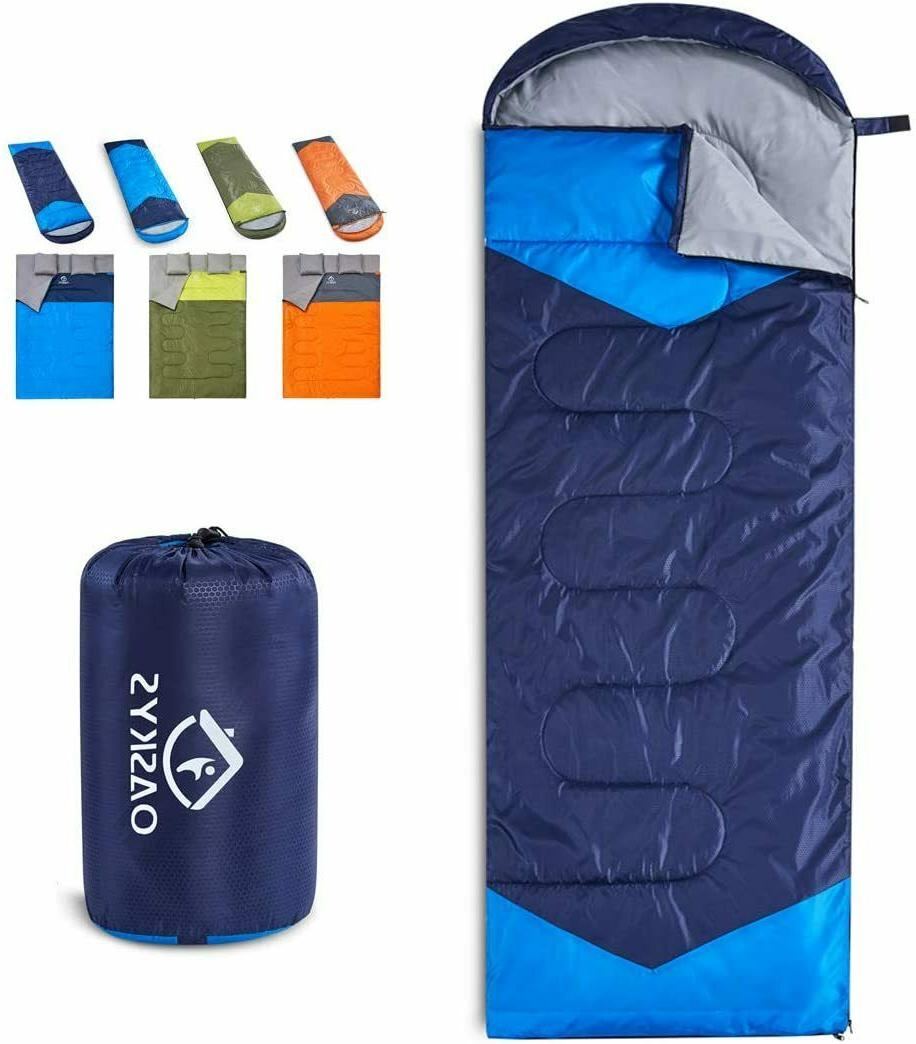 camping sleeping bag waterproof for adults