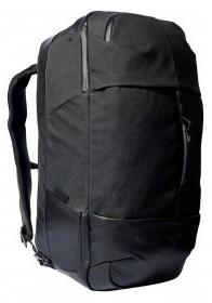 carry luggage black waxed kodra
